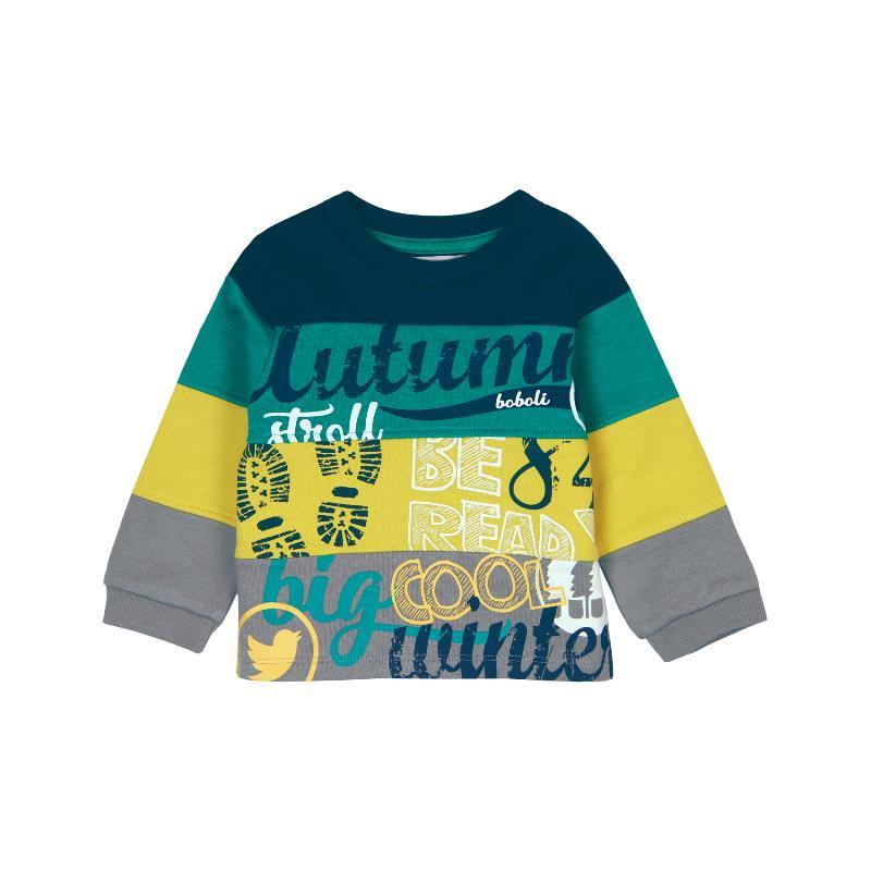Bluză din bumbac cu mâneci lungi și bată elastică, pentru un copii  359
