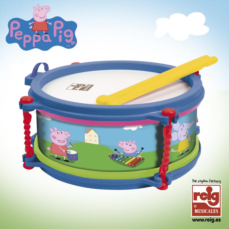 Tambur cu bețe, Peppa Pig  3733
