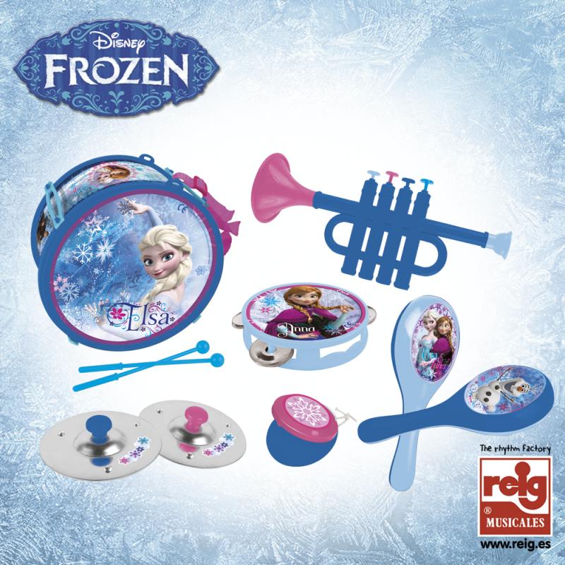 Set de instrumente muzicale pentru copii din 6 piese  3753