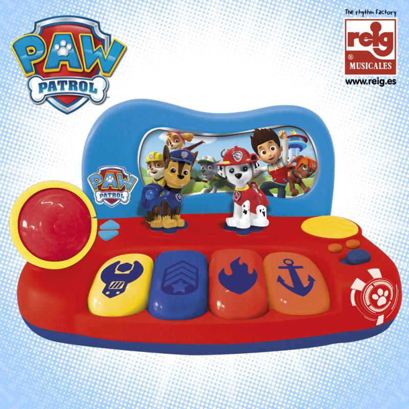 Pian electronic pentru copii cu microfon, Paw Patrol  3803