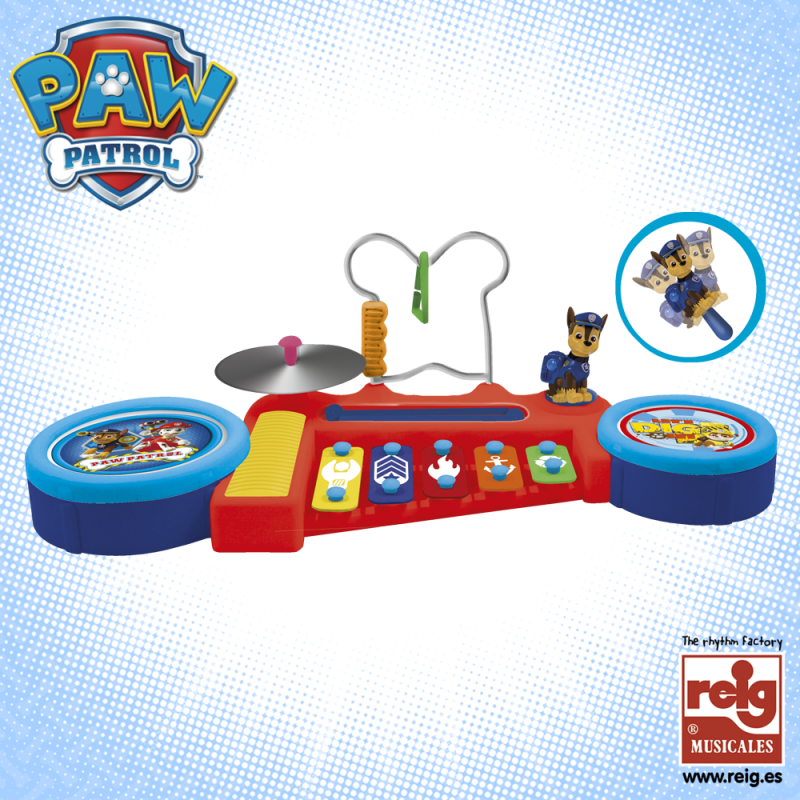 Ansamblu muzical pentru copii, 5 instrumente, Paw Patrol  3806
