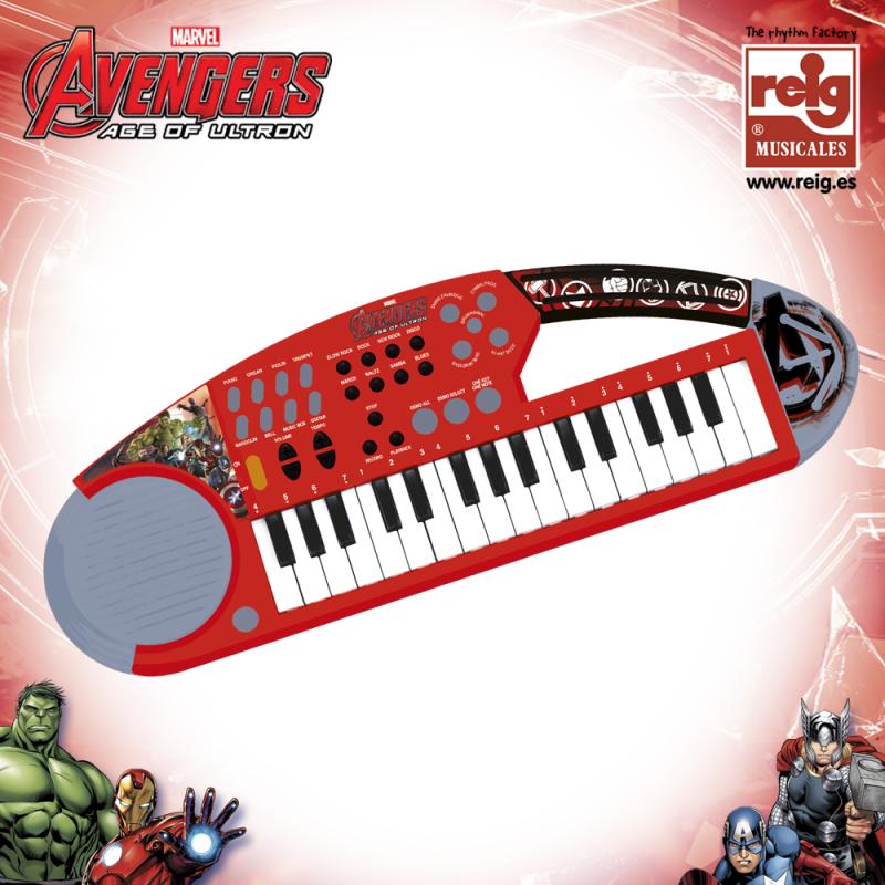Pian electronic Avengers cu 32 de clape  3818