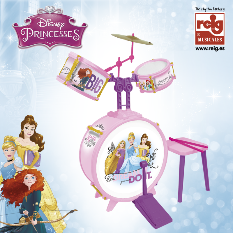 Tobă pentru copii cu scaun, seria Frozen  3830