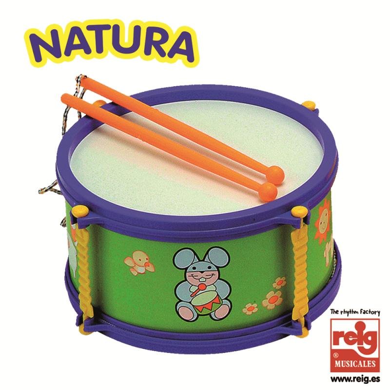Tobă pentru copii, de culoare violet  3840