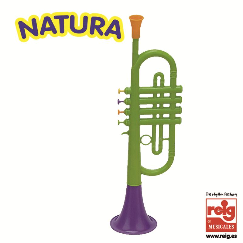Trompetă pentru copii cu 4 taste colorate  3844