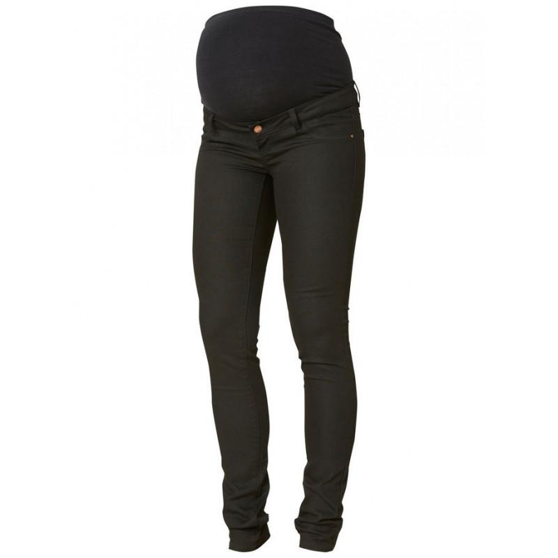 Pantaloni negri, pentru maternitate, slim fit  3882