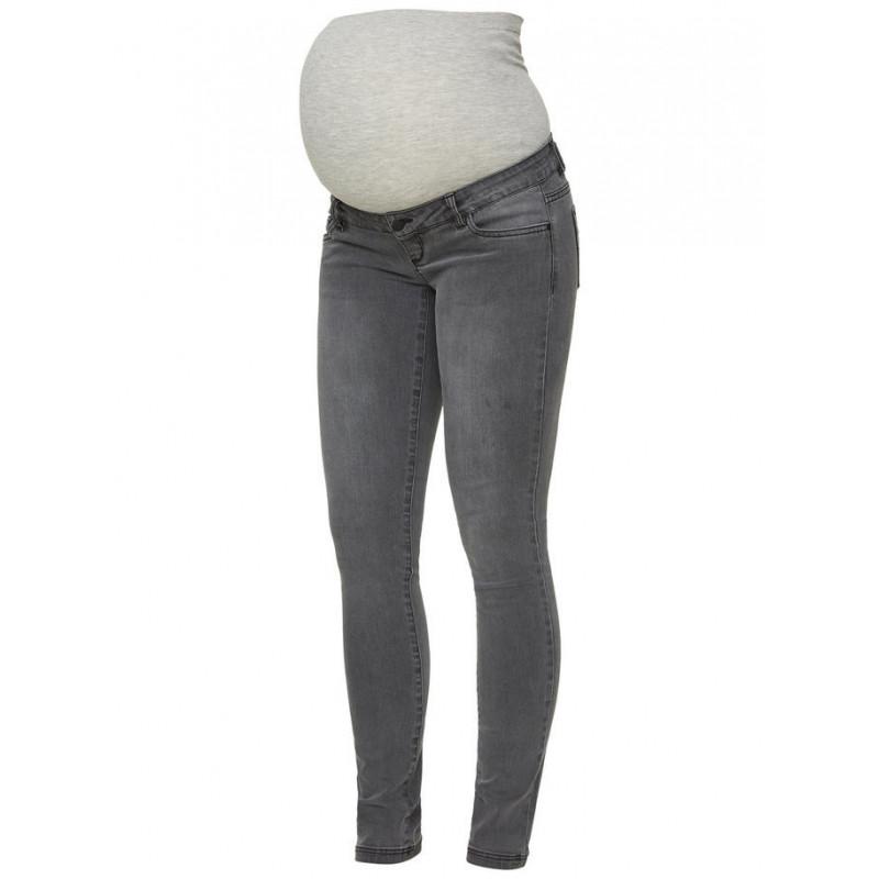 Jeans pentru gravide, gri  3930