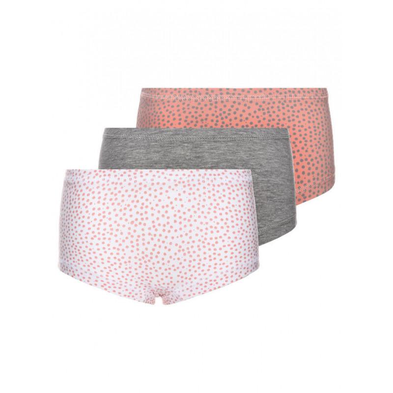 Set de lenjerie pentru fete în culori delicate  4024