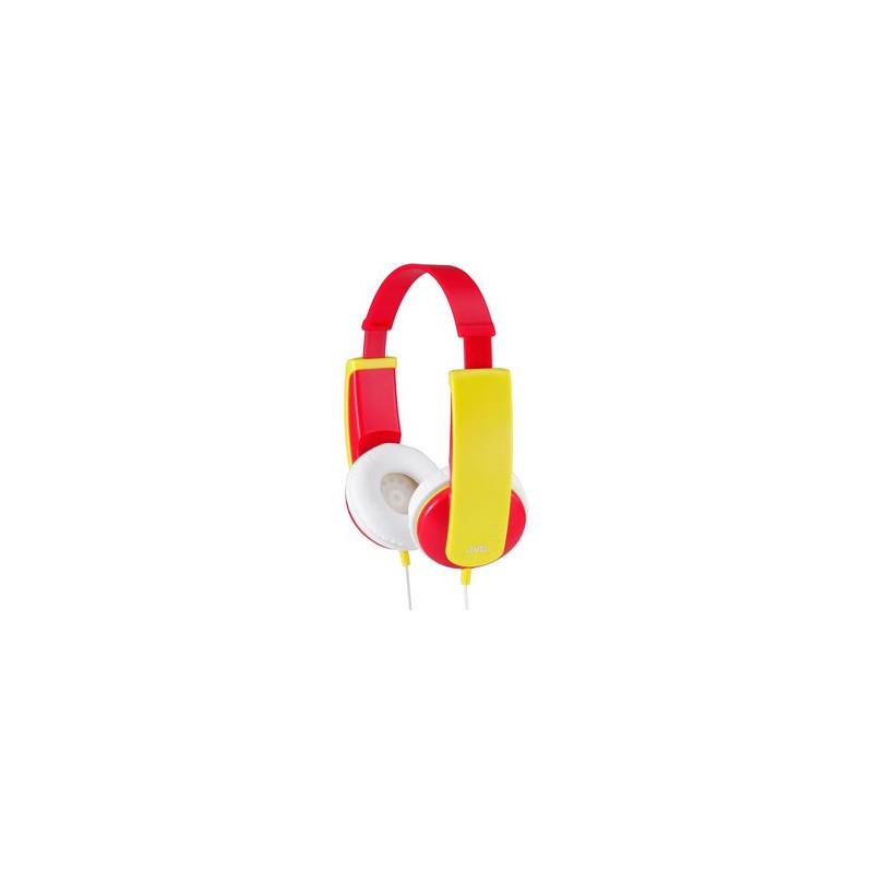 Căști stereo, de culoarea roșu și galben ha-kd5-v  41946