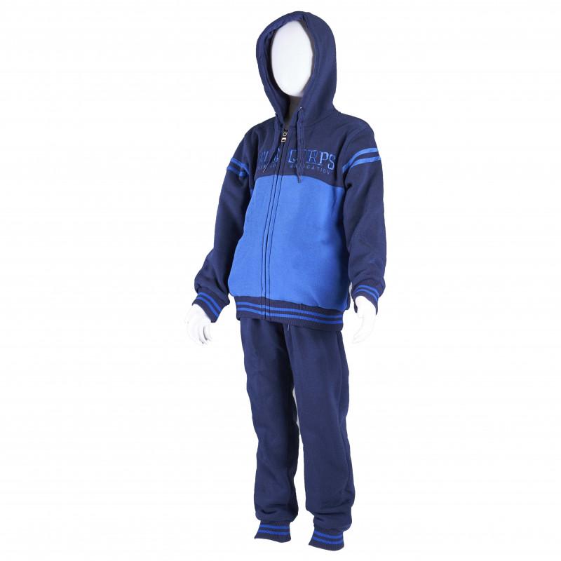 Set sport de băieți, albastru  4316