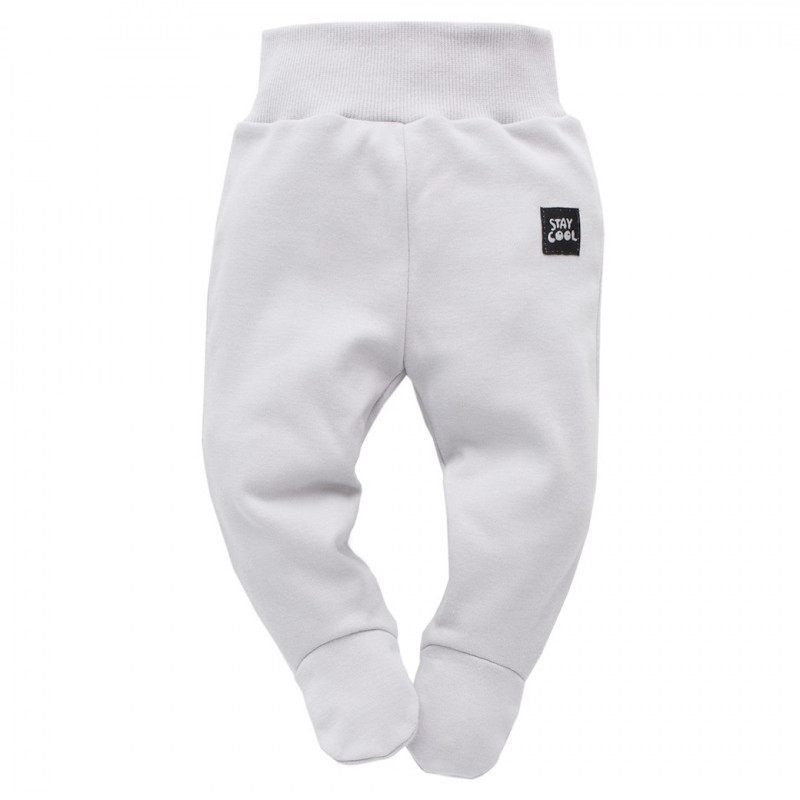 Pantaloni largi din bumbac cu elastic - Unisex  44476