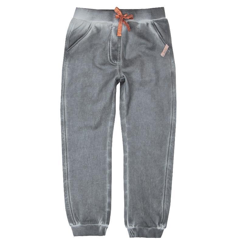 Pantaloni sport cu aspect uzat, pentru fete, cu două buzunare în față și două în spate  445