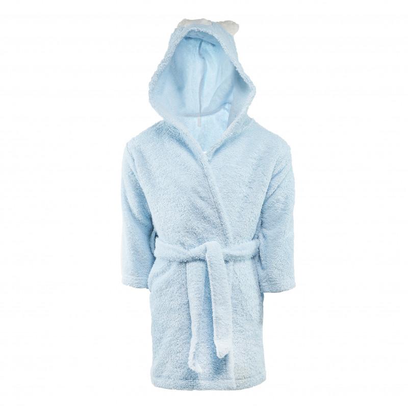 Halat de baie albastru pentru băieți  54549
