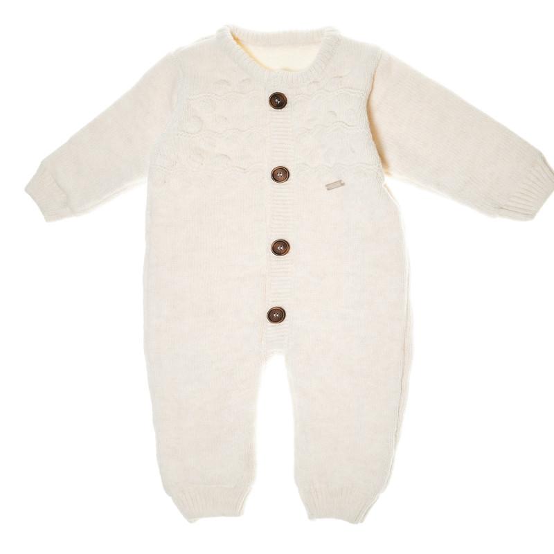 Salopetă tricotată unisex  55288