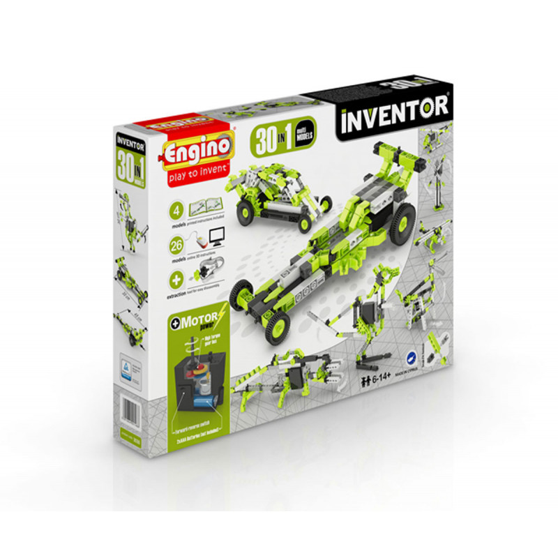 Constructor - 30 kit motorizat cu 121 de piese  5671