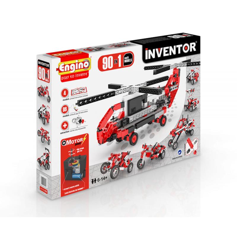 Constructor - 90 kit motorizat de peste 20 de piese  5675