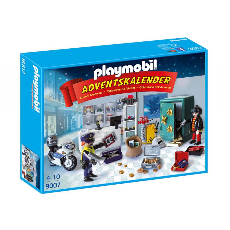 Piese de construcție Calendar de Crăciun Operațiune de poliție, peste 10 bucăți  5737
