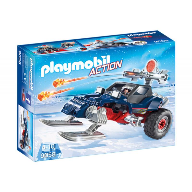 Piese de construcție Pirat de gheață cu motociclete de zăpadă, 5 bucăți  5749