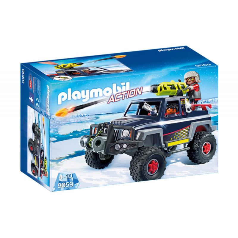 Piese de construcție Pirații de gheață cu camioane, 8 bucăți  5751