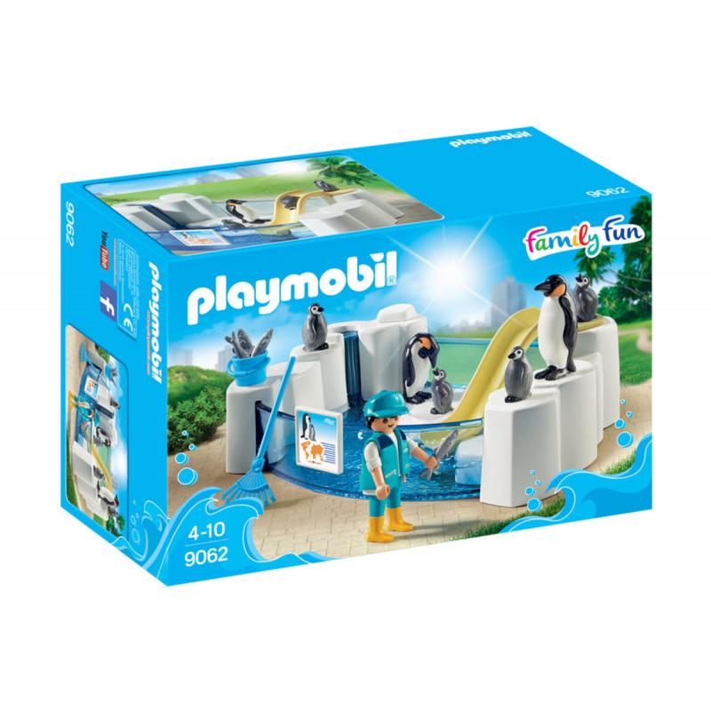 Piese de construcție piscină cu pinguini, peste 10 bucăți  5757