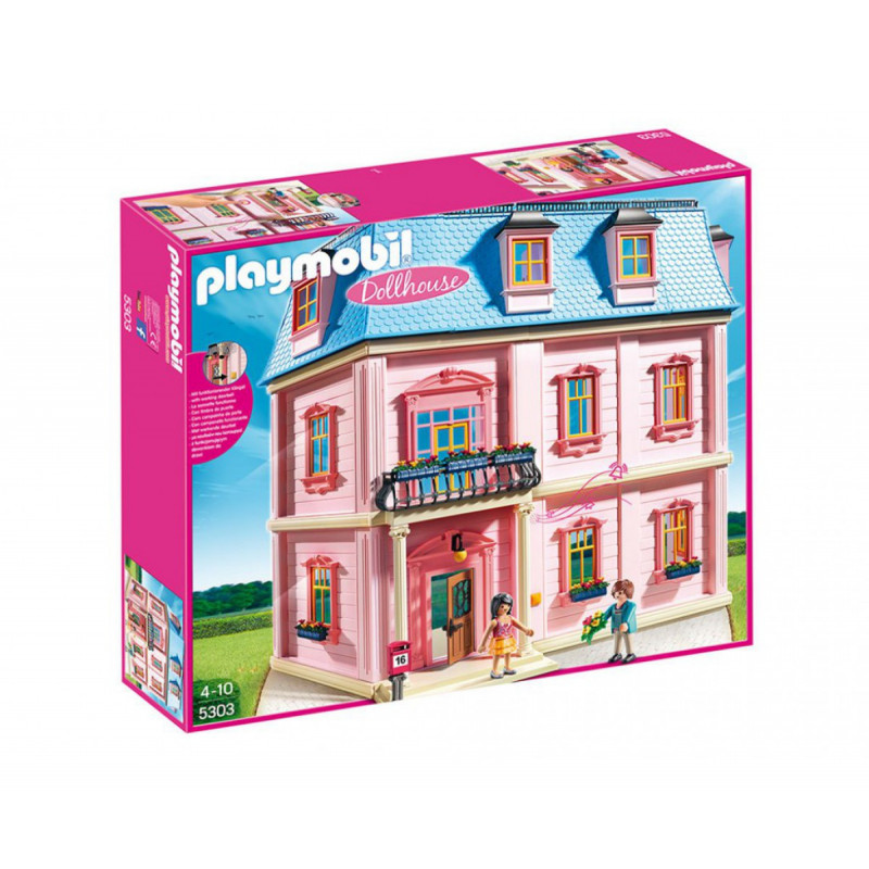 Constructor romantic de case pentru păpuși cu peste 10 piese  5818
