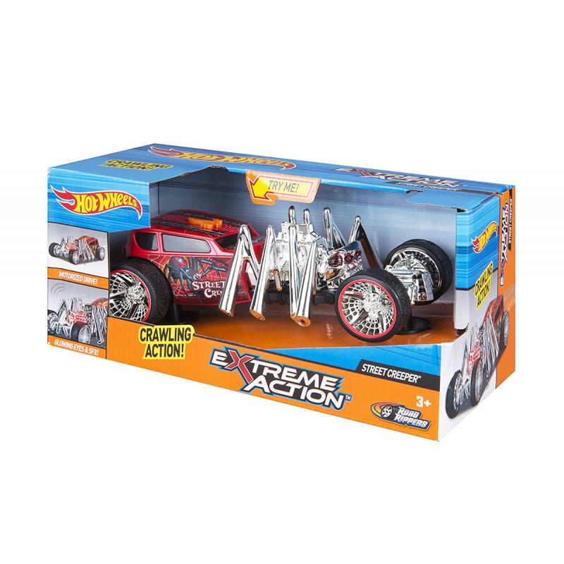 Mașină Hot Wheels de acțiune extremă cu sunet și lumini, cățărătoare  5844