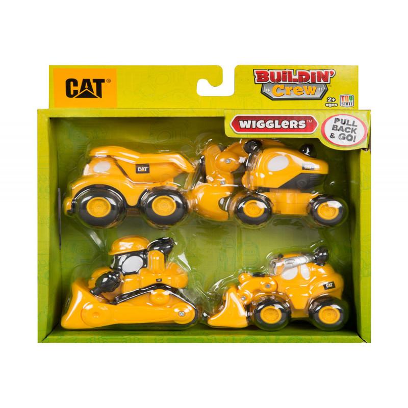 Toy State - set de 4 mașini de construcții  5884