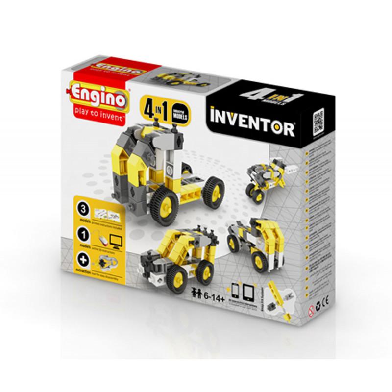 Constructor - 4 modele de mașini industriale cu peste 20 de piese  5894