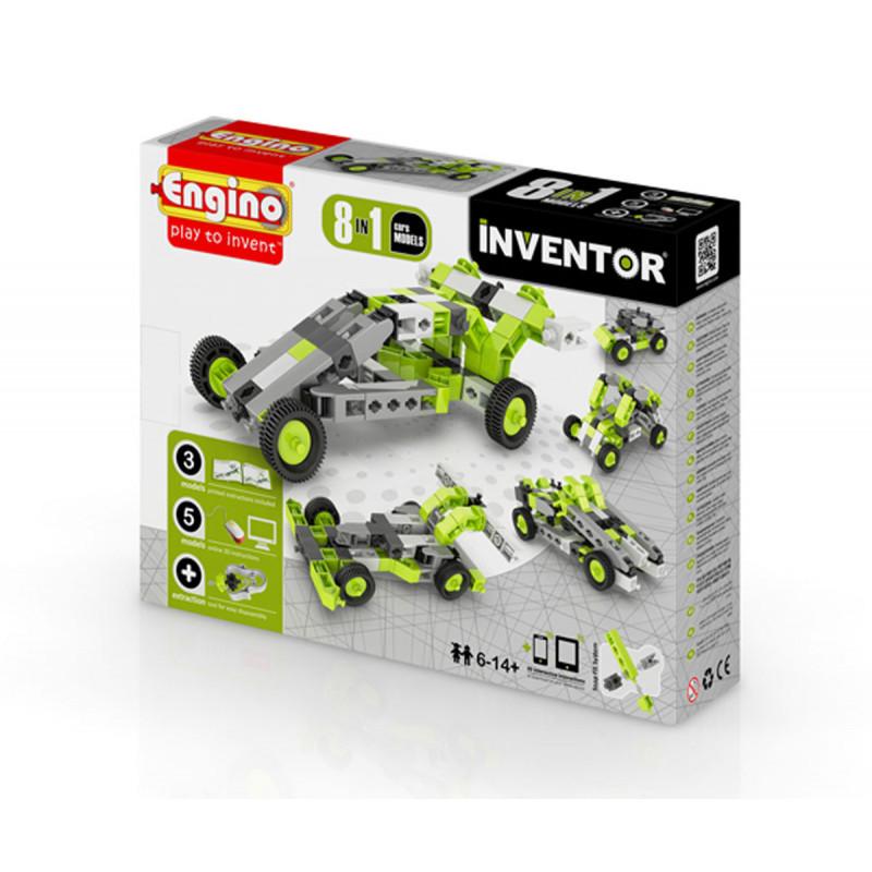 Designer - 8 modele de mașini cu peste 20 de piese  5896