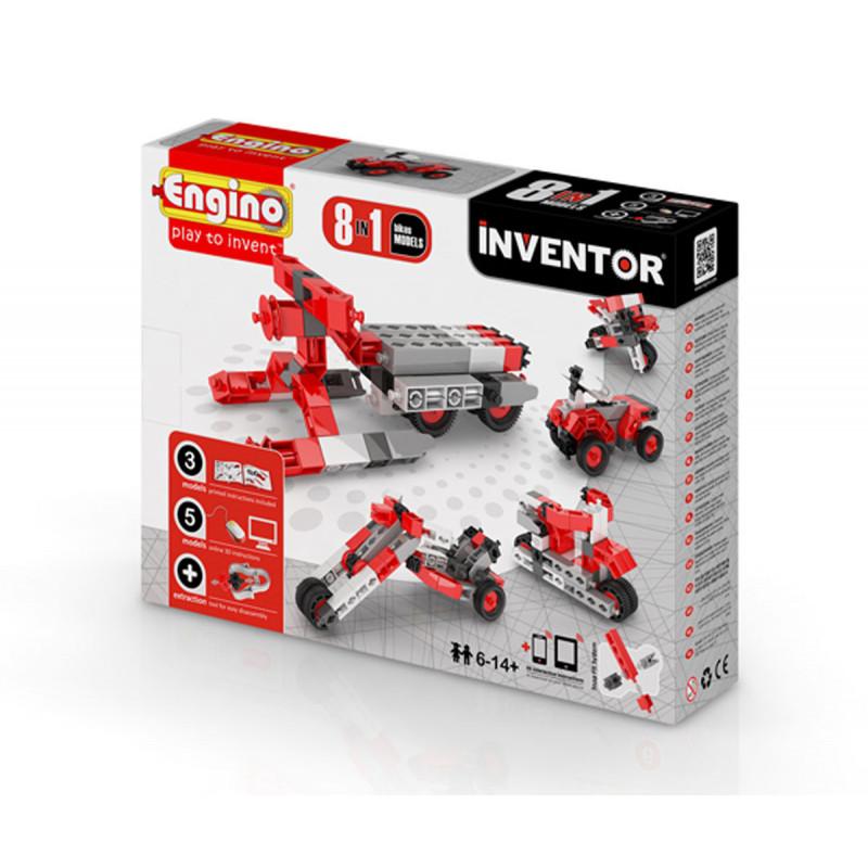 Constructor - 8 modele de motociclete cu peste 20 de piese  5898