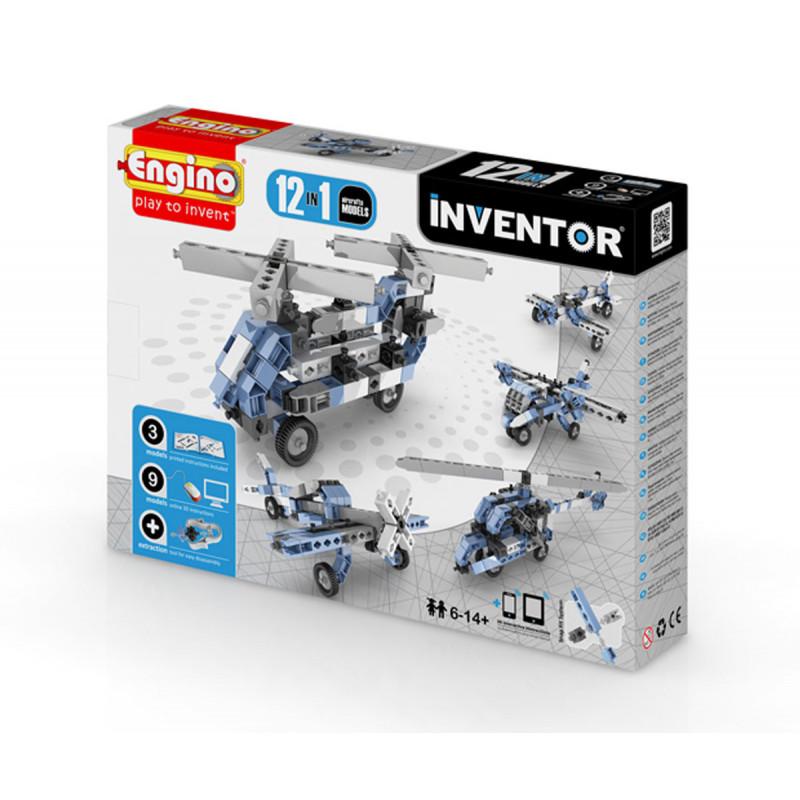 Constructor - 12 modele de aeronave cu peste 20 de piese  5902