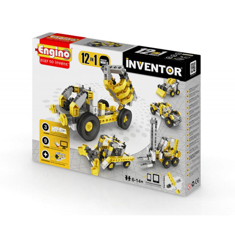 Constructor - 12 modele de mașini industriale cu peste 20 de piese  5904