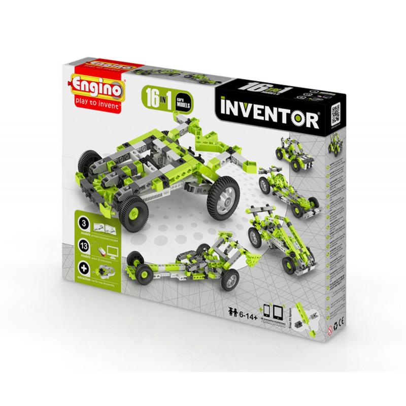 Constructor - 16 modele de mașini cu peste 20 de piese  5906