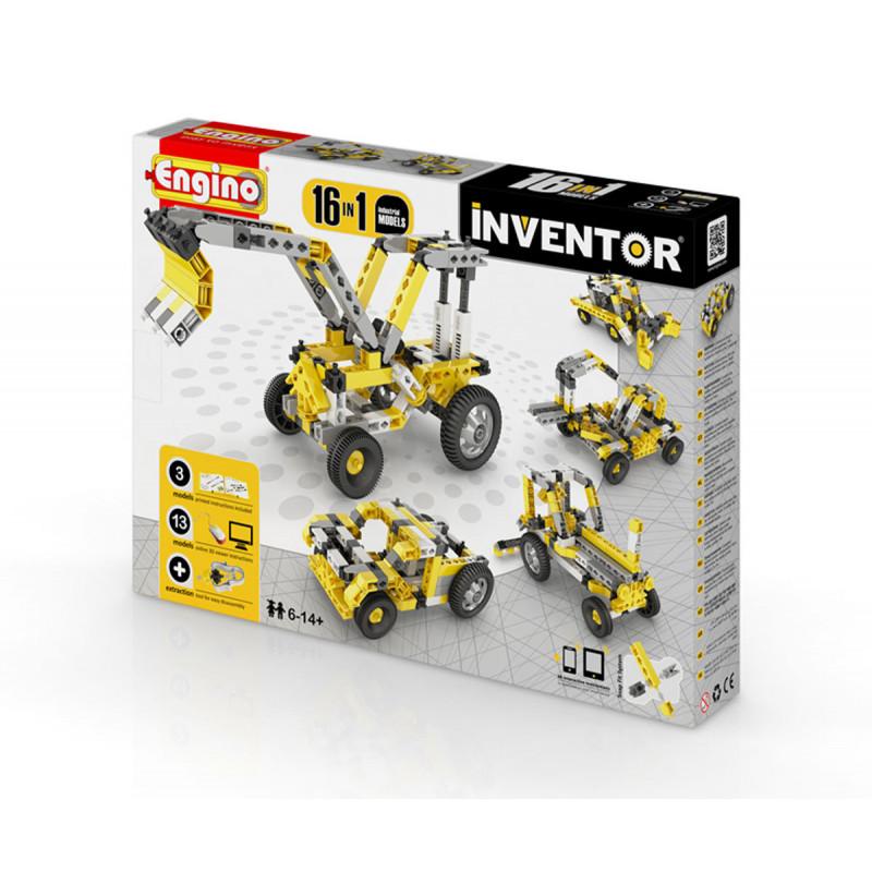 Constructor - 16 modele de mașini industriale cu peste 20 de piese  5912