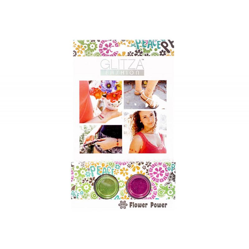 Set de sclipici, Puterea Florilor, 2 culori  6040
