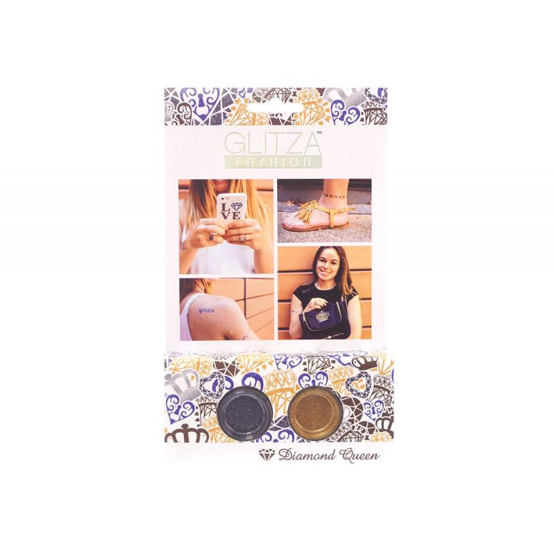 Set de modele, Regina Diamantelor cu 2 culori  6041