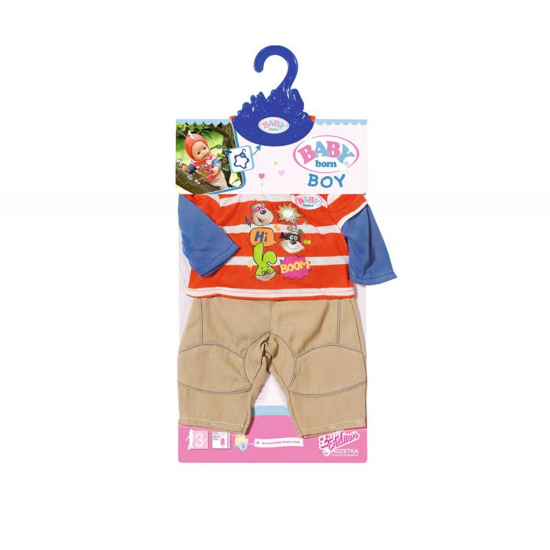 Baby Born - haine pentru o păpușă băiat  6096