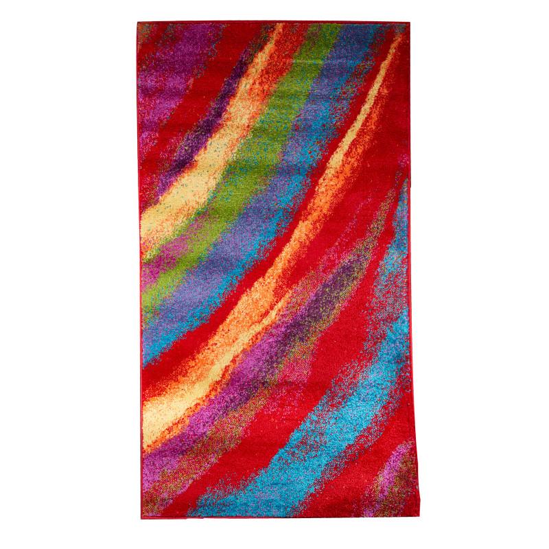 Covor cu imprimeu multicolor, în diferite dimensiuni  6222