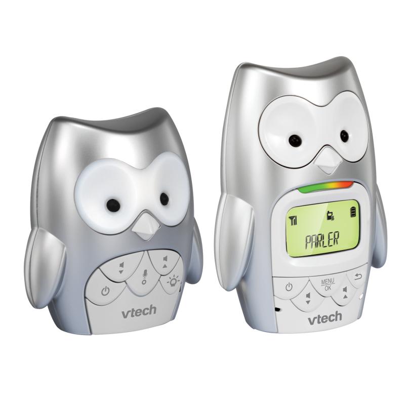 Monitor digital pentru copii, formă de bufniță  6284