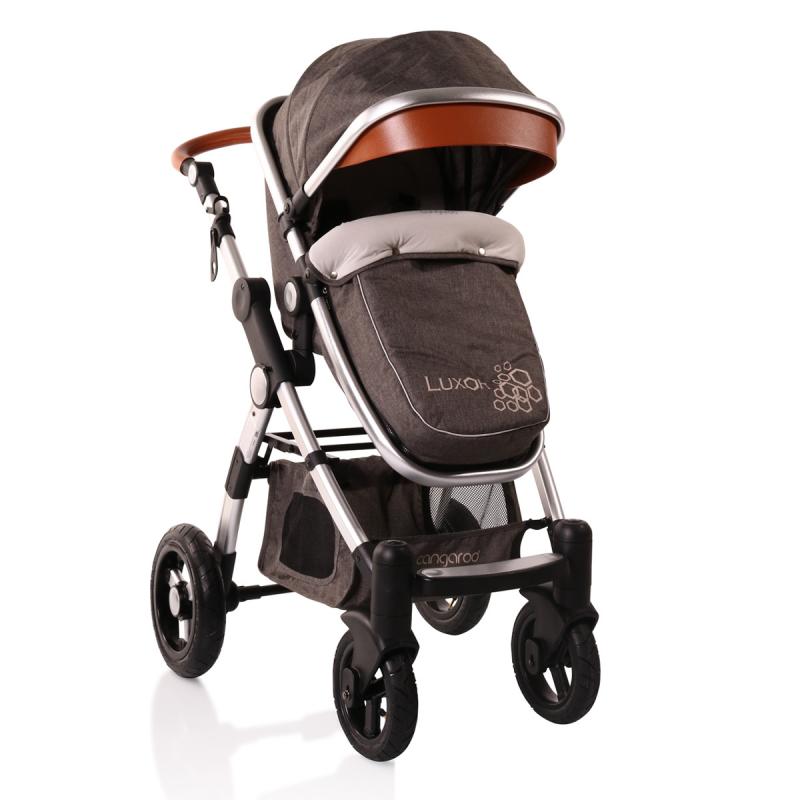 Luxor 2-în-1 cărucior complex pentru copii, gri  6593