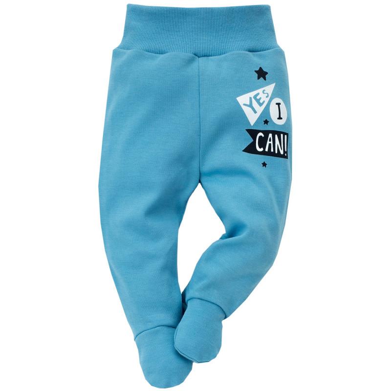 Pantaloni de bumbac cu elastic larg pentru un copil  693