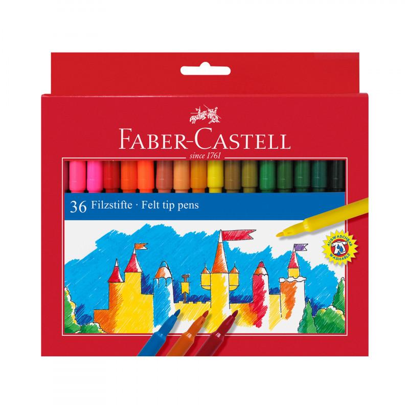 FABER-CASTELL Carioci 36 culori  72494