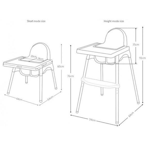 Scaun de masă - KITTY  73212 7