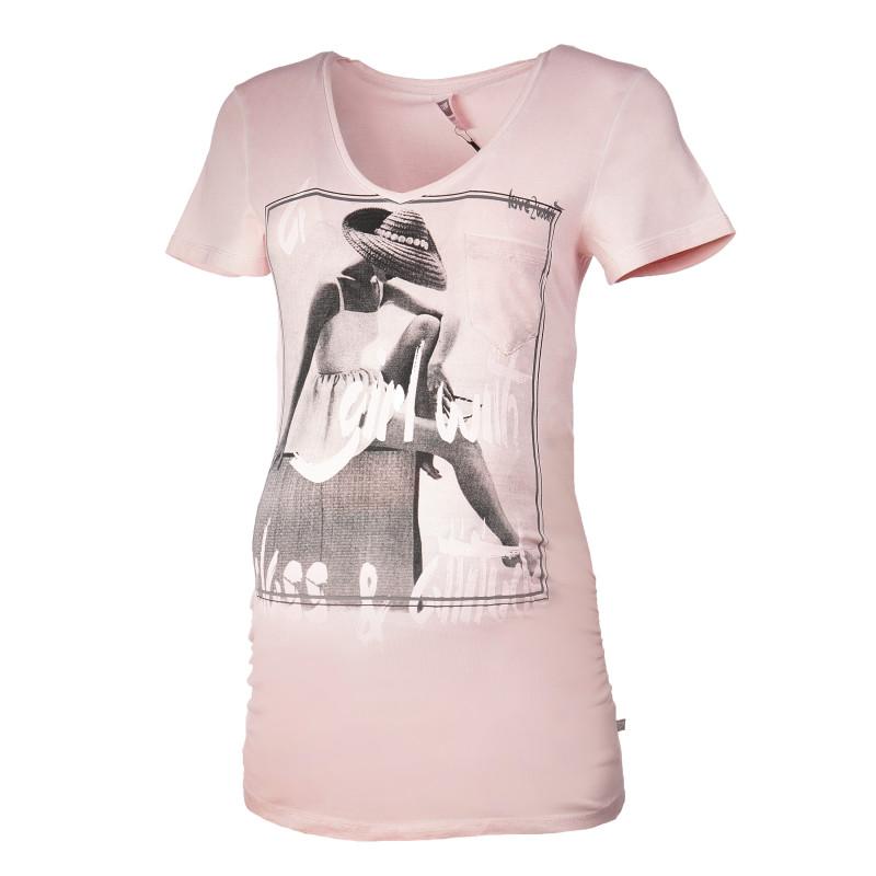 Bluză cu mânecă scurtă pentru gravide  73283