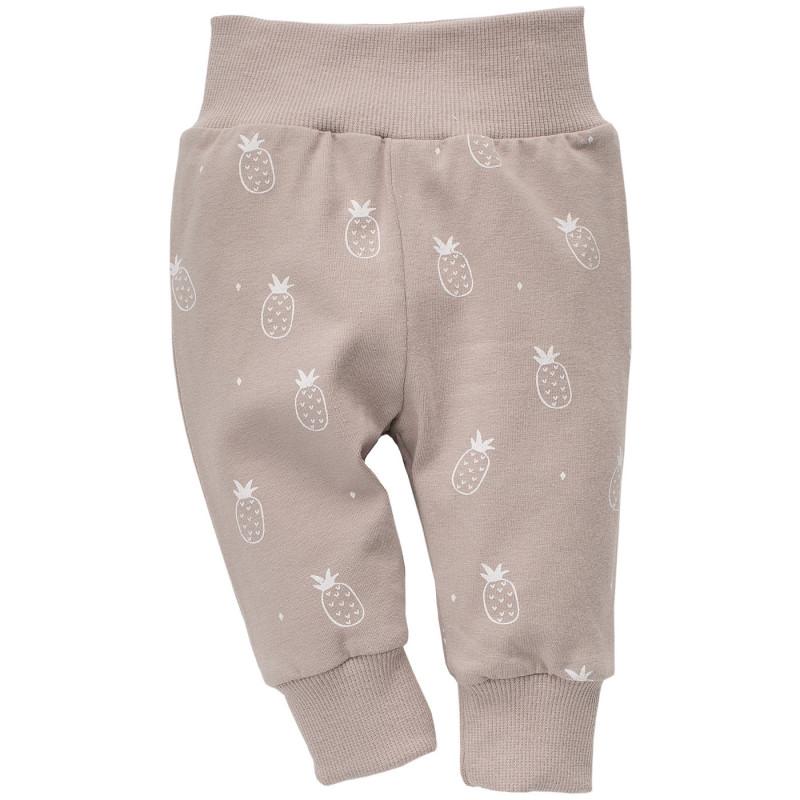Pantaloni cu imprimeu ananas pentru bebeluș - unisex  773