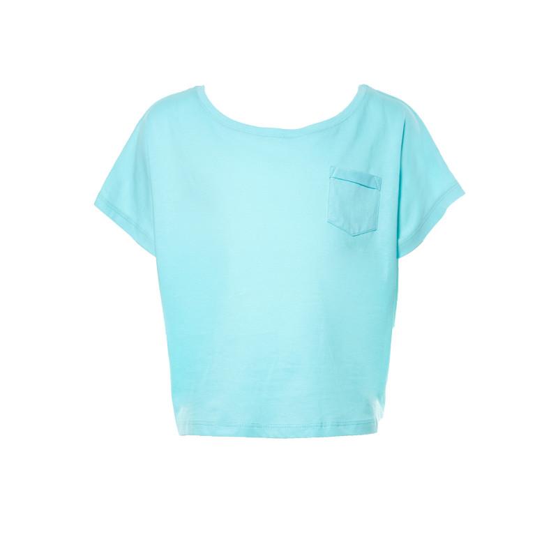 Tricou OVS pentru fete, de culoare albastră  7845