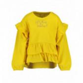Bluză din bumbac cu mânecă lungă pentru fată pentru fată BLUE SEVEN 81481