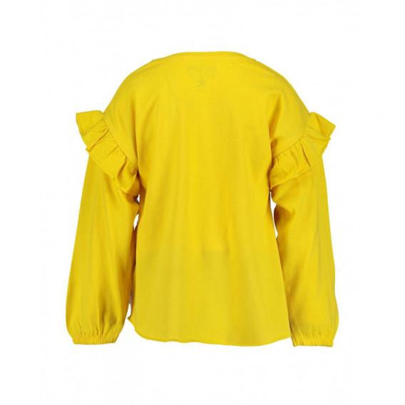 Bluză din bumbac cu mânecă lungă pentru fată pentru fată BLUE SEVEN 81482 2
