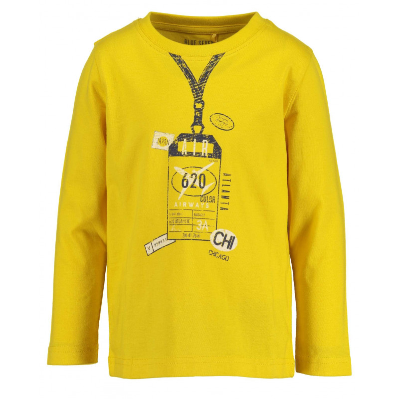 Bluză din bumbac cu mânecă lungă pentru băiat pentru băiat  81499