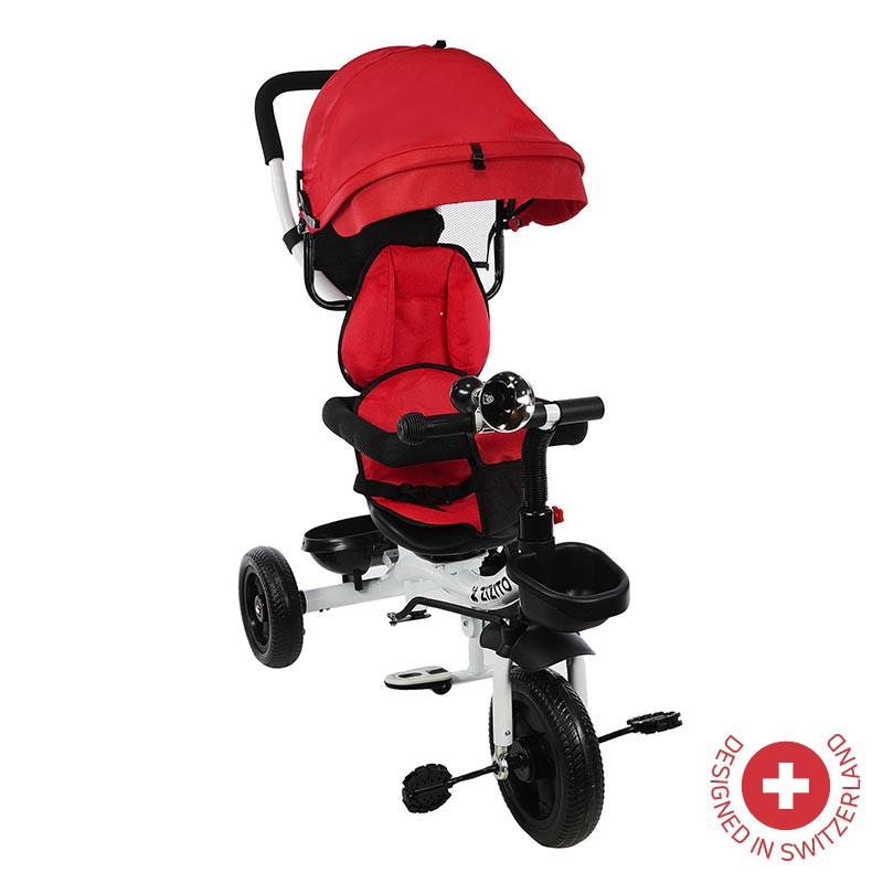 Tricicletă Parent KOTY, roșu  81898